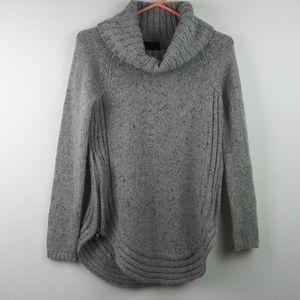 Cynthia Rowley Knit Wool Blend Cowl Neck Sweater